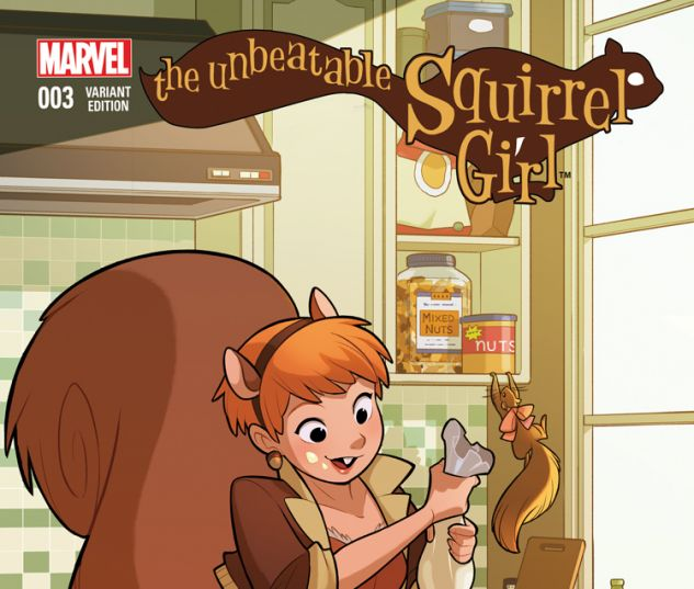 THE UNBEATABLE SQUIRREL GIRL 3 GURIHIRU WOM VARIANT (WITH DIGITAL CODE)