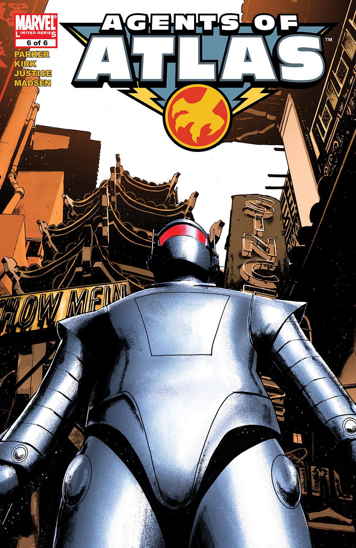 Agents of Atlas (2006) #6
