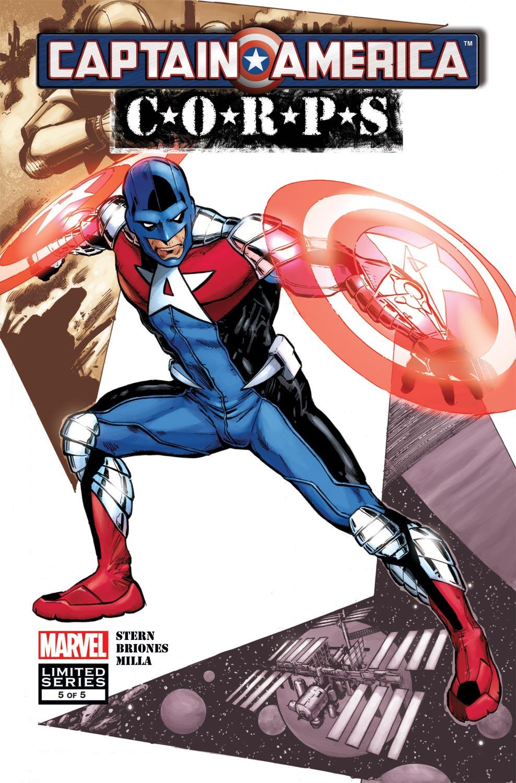 Captain America Corps (2011) #5