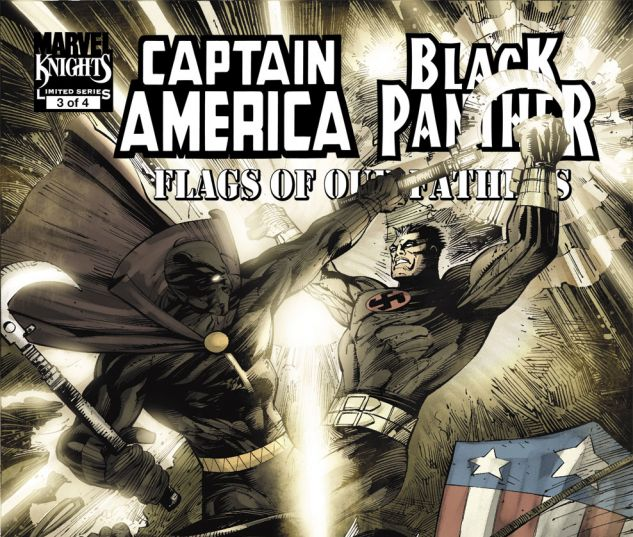 CAPTAIN AMERICA/BLACK PANTHER: FLAGS OF OUR FATHERS (2010) #3 Cover