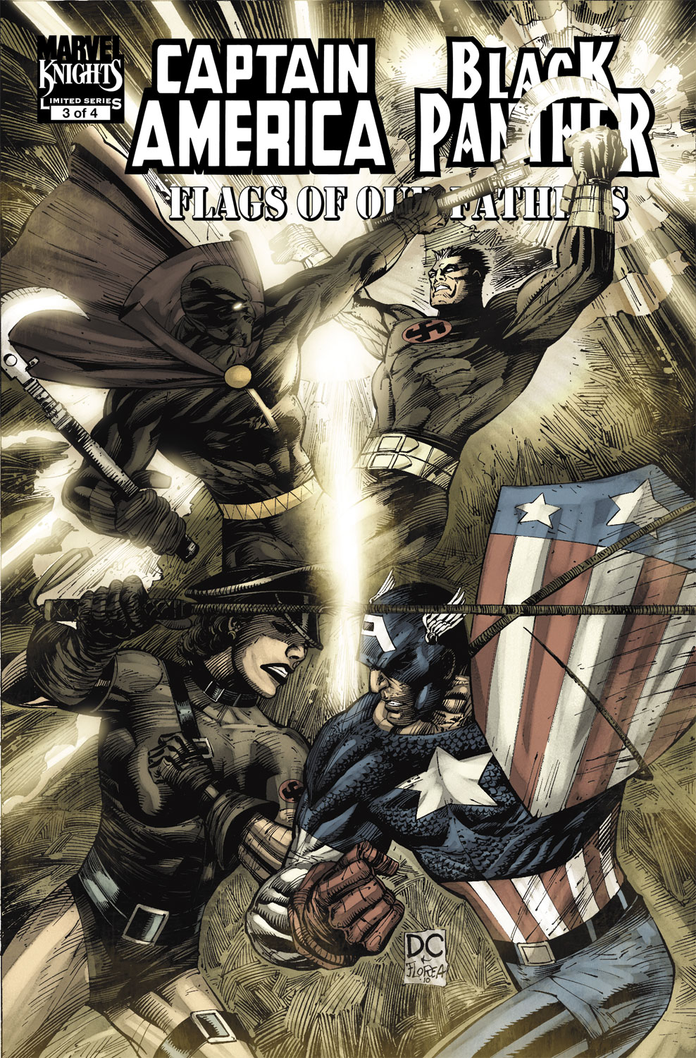 Captain America/Black Panther: Flags of Our Fathers (2010) #3