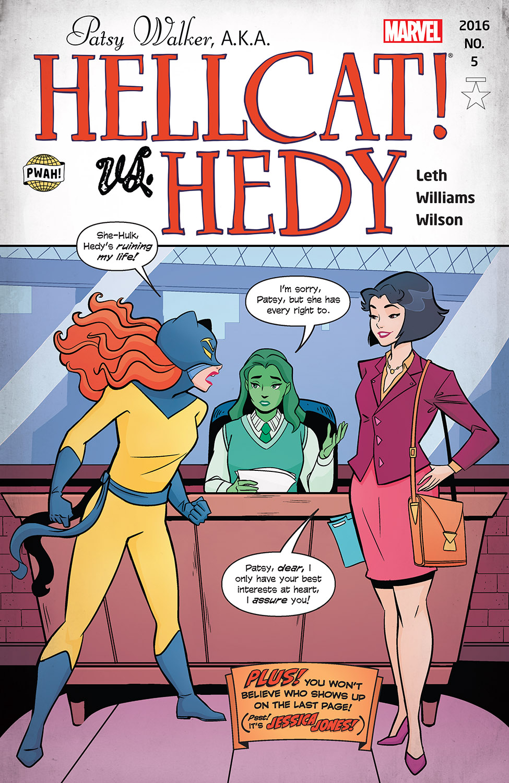 Patsy Walker, a.K.a. Hellcat! (2015) #5
