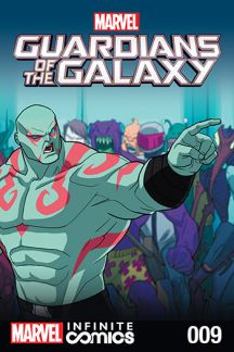 Marvel Universe Guardians of the Galaxy Infinite Comic #9