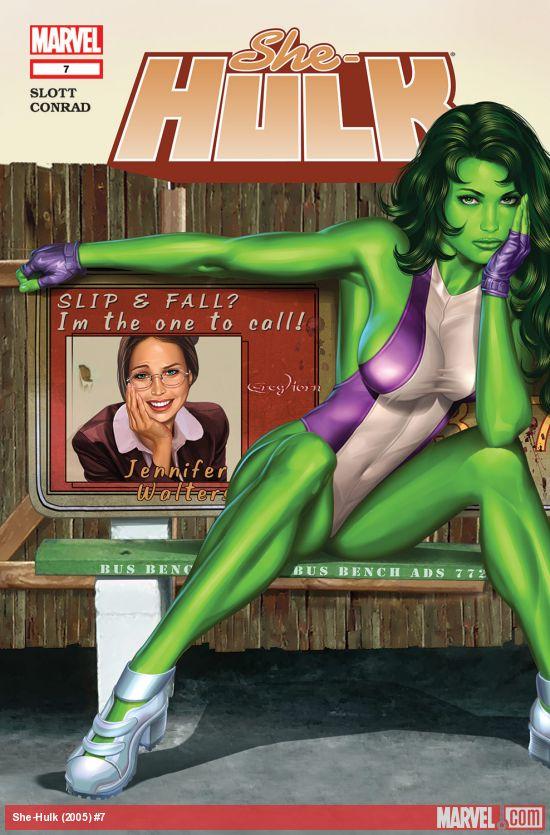 She-Hulk (2005) #7
