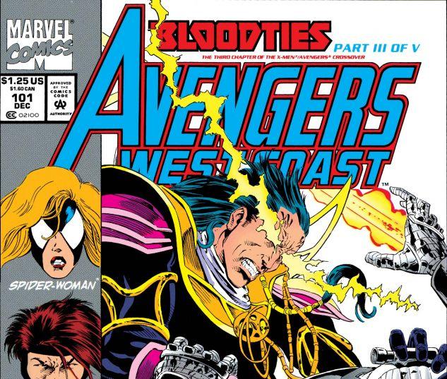 Avengers West Coast (1985) #101
