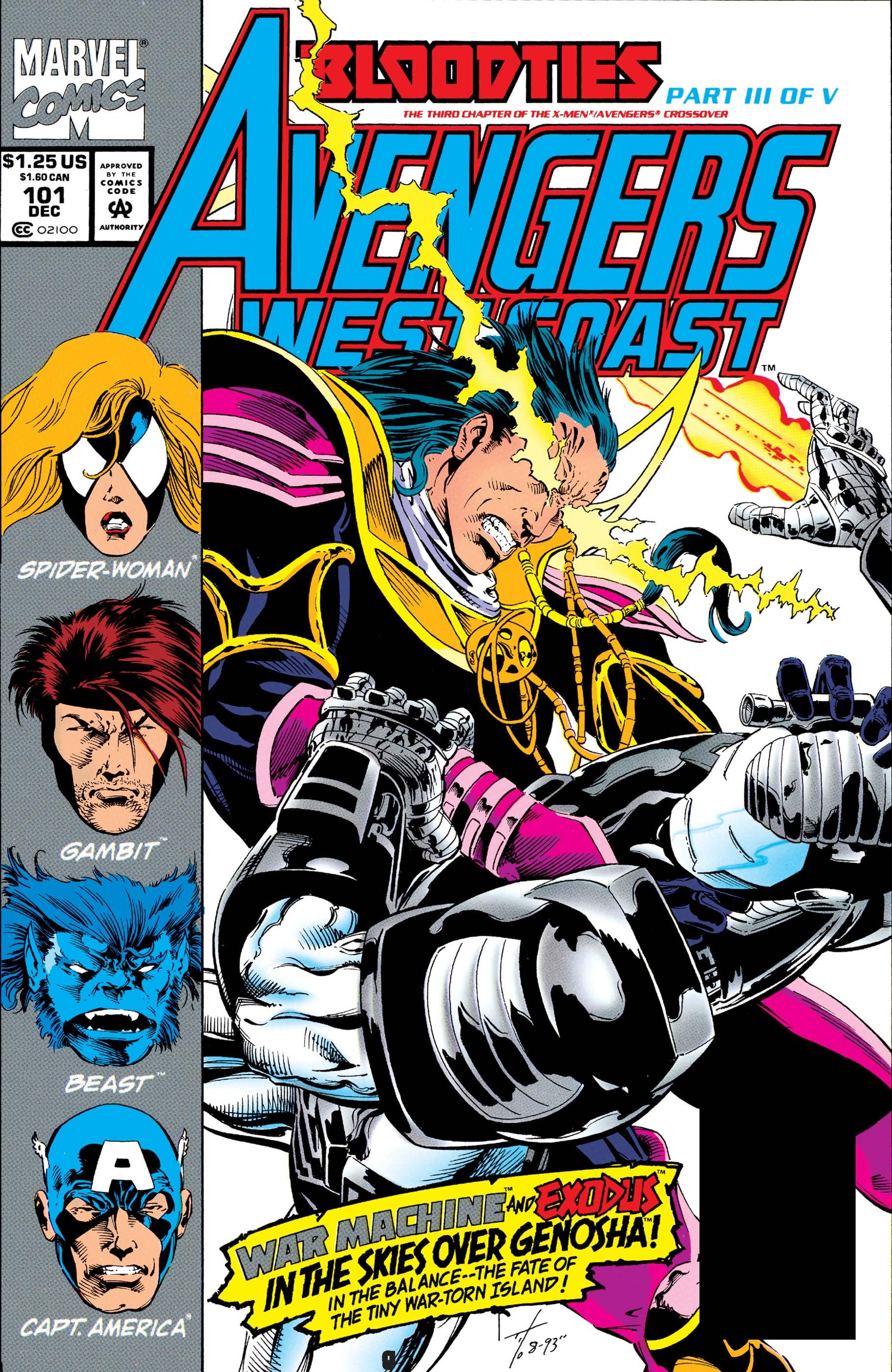West Coast Avengers (1985) #101