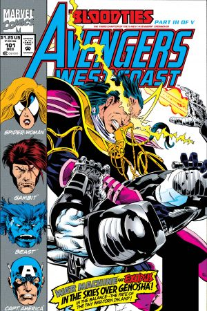 West Coast Avengers #101
