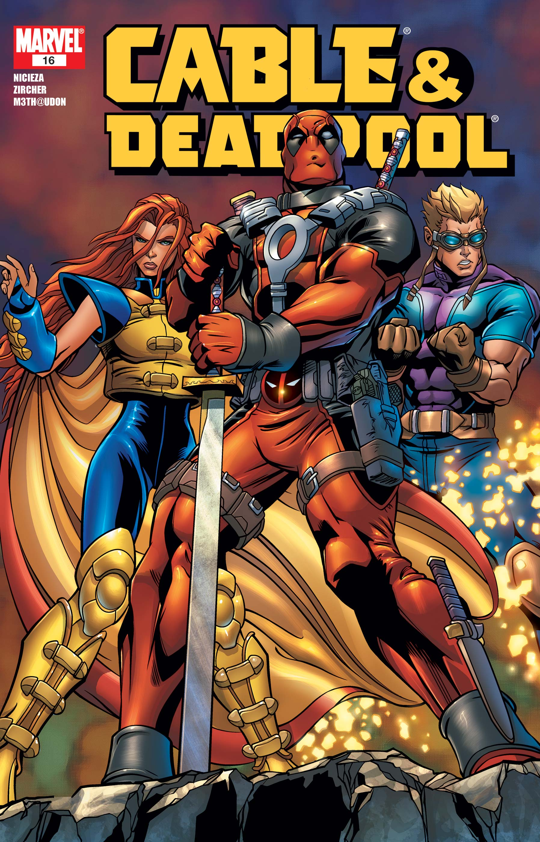 Cable & Deadpool (2004) #16
