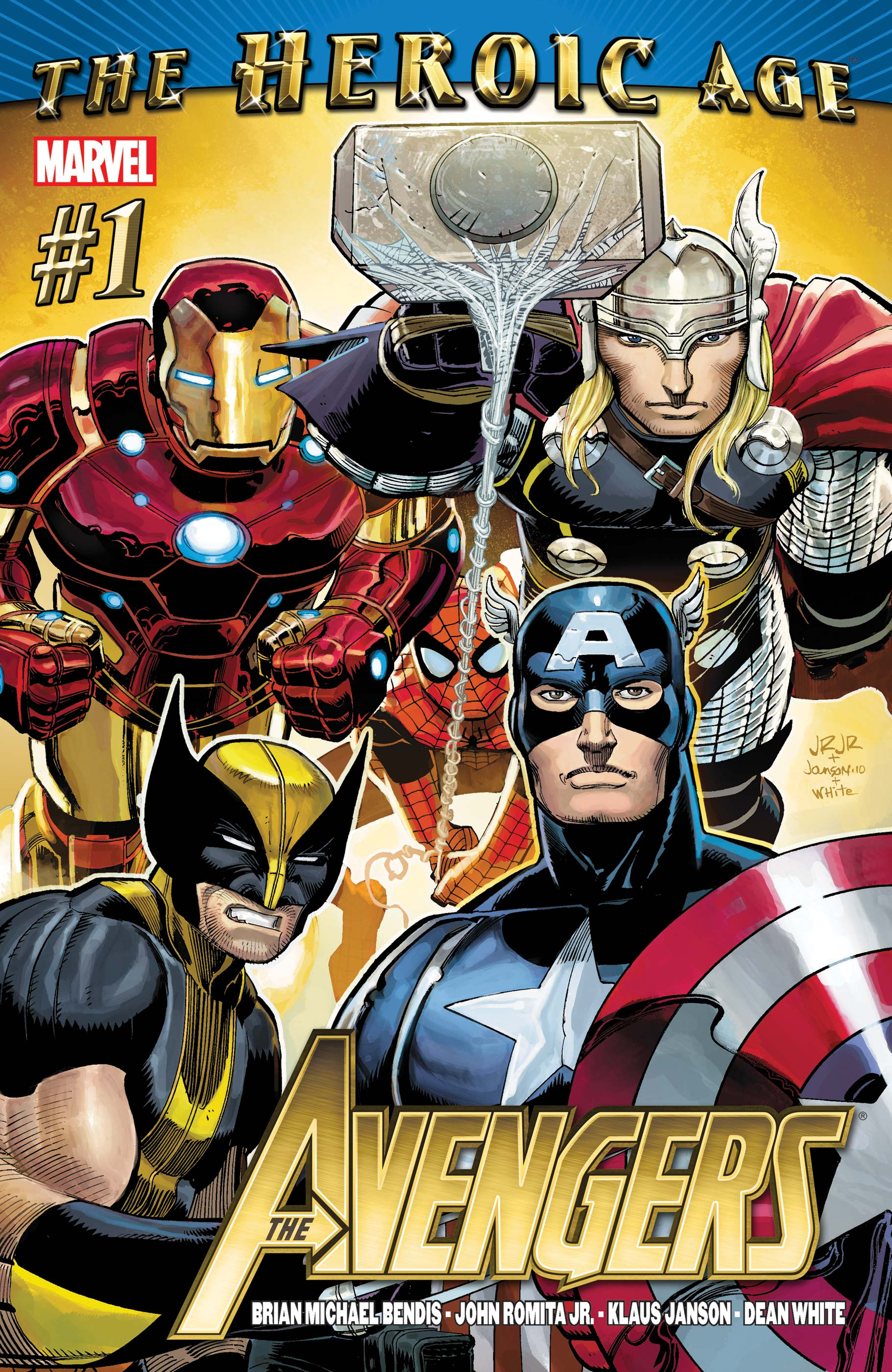 Avengers (2010) #1