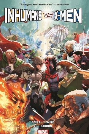 Inhumans Vs. X-Men (Trade Paperback)