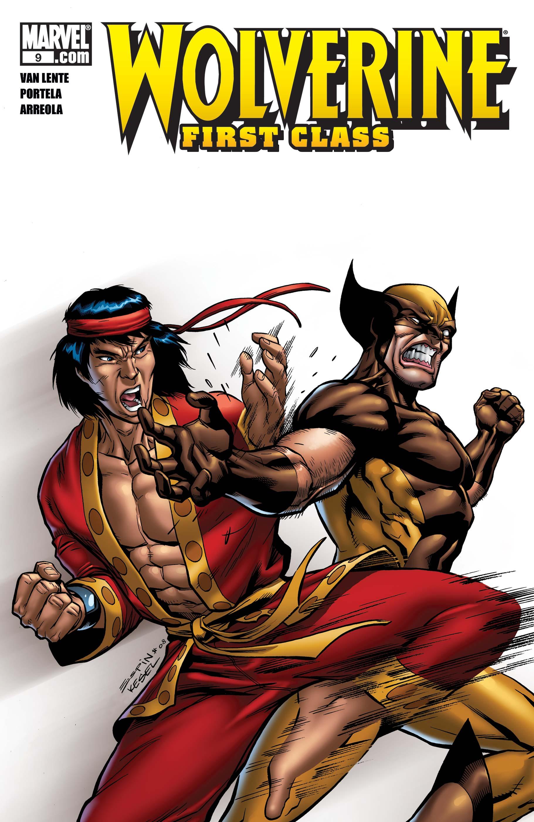 Wolverine: First Class (2008) #9