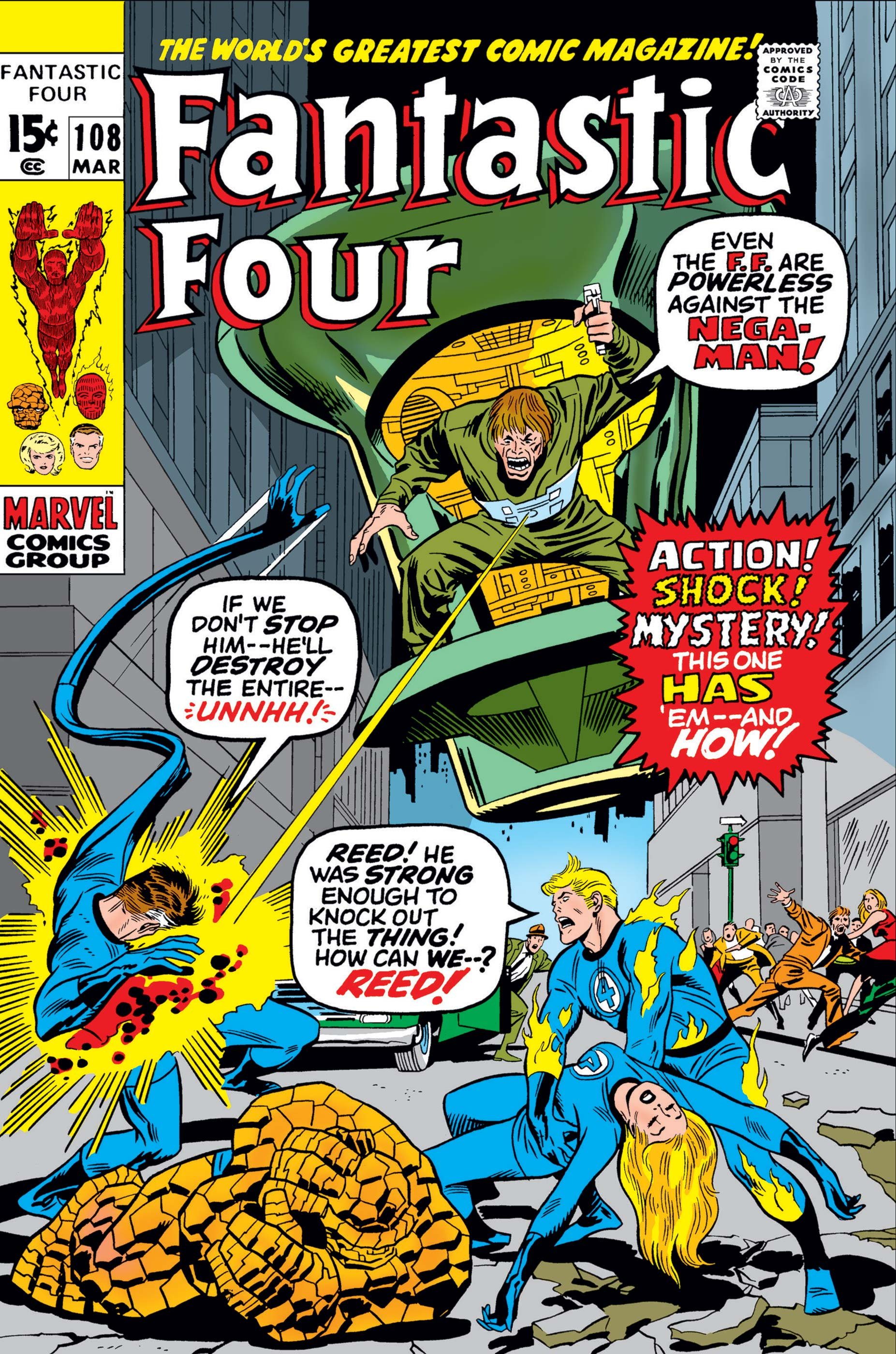 Fantastic Four (1961) #108