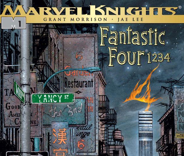 Fantastic Four: 1234 (2001) #1