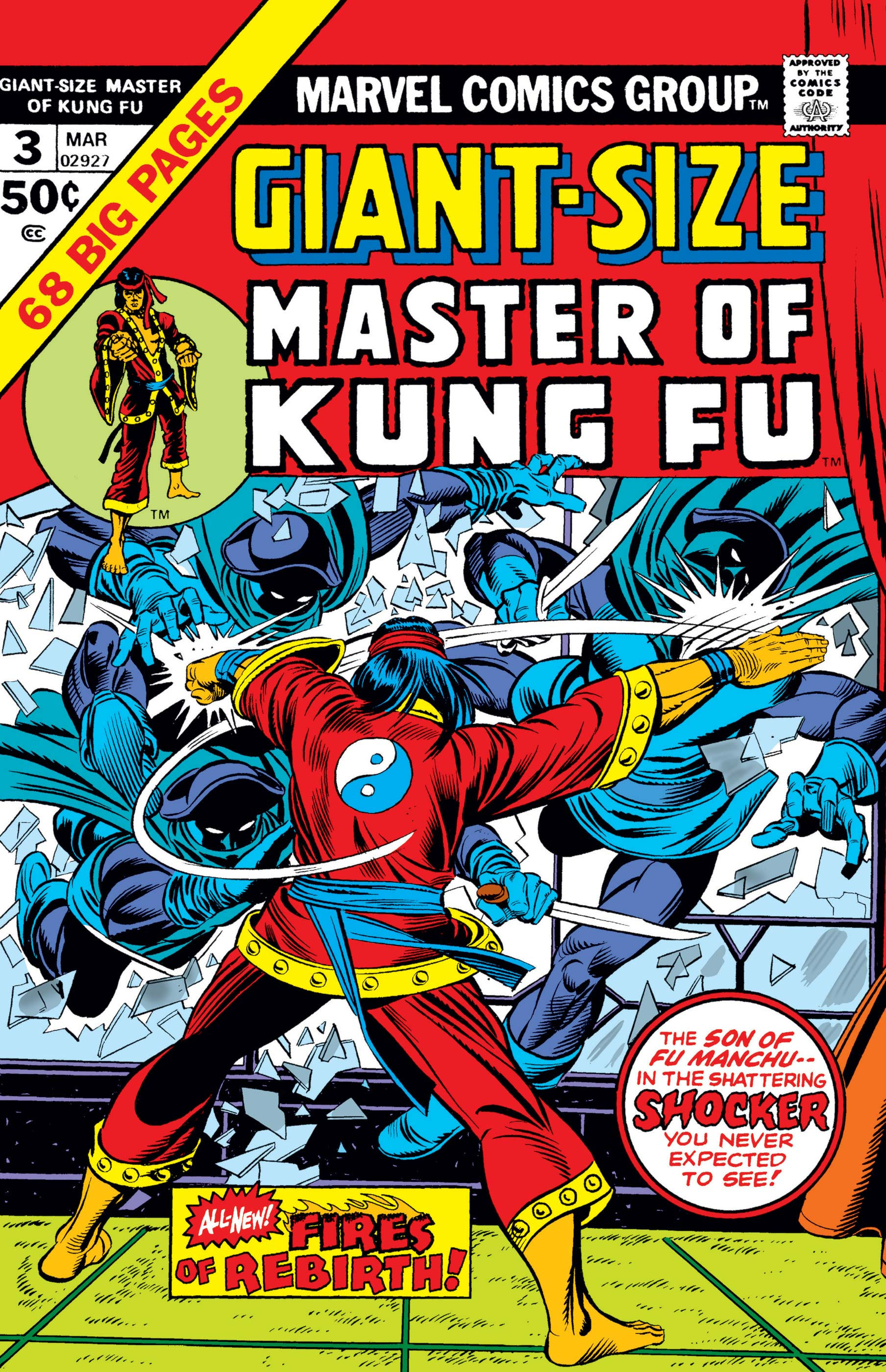 Giant-Size Master of Kung Fu (1974) #3