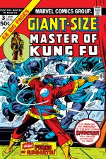 Giant-Size Master of Kung Fu (1974) #3 cover