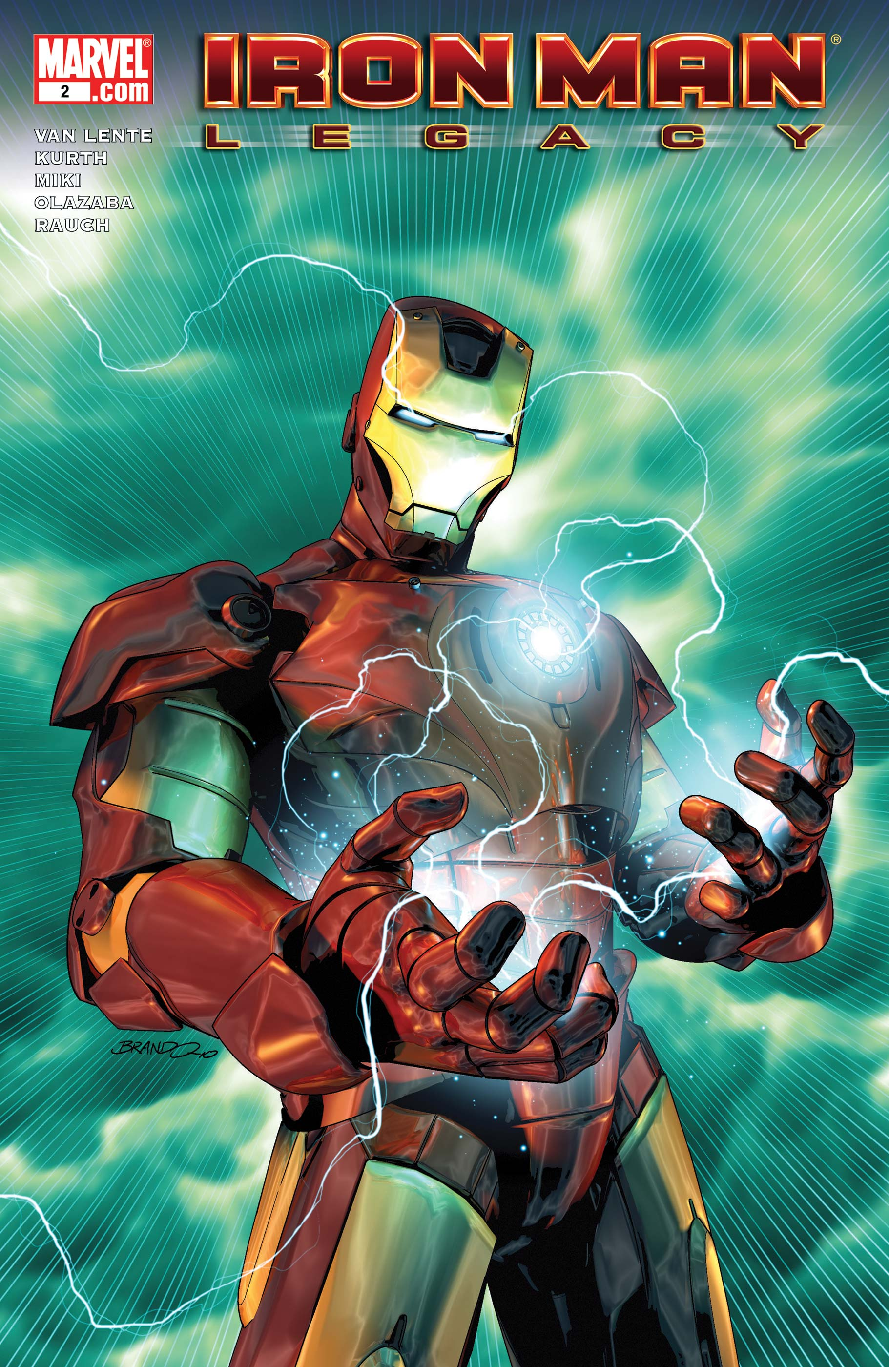 Iron Man Legacy (2010) #2