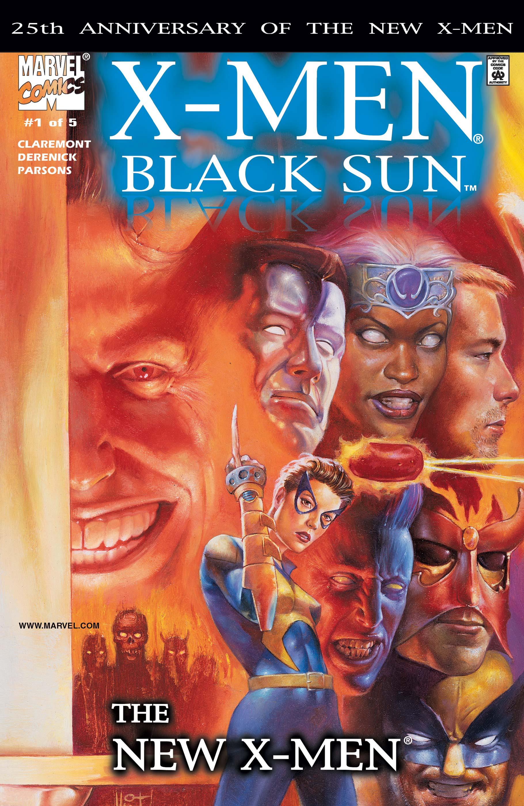 X-Men: Black Sun (2000) #1