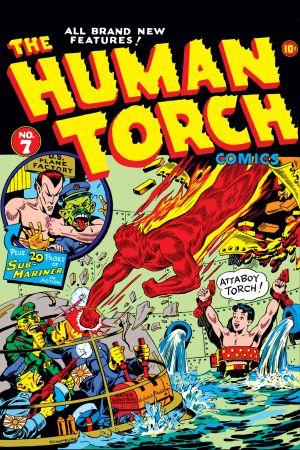 Human Torch Comics (1940) #7