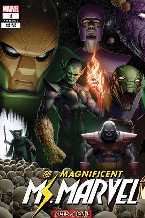 Ms. Marvel Annual (2019) #1 (Variant)