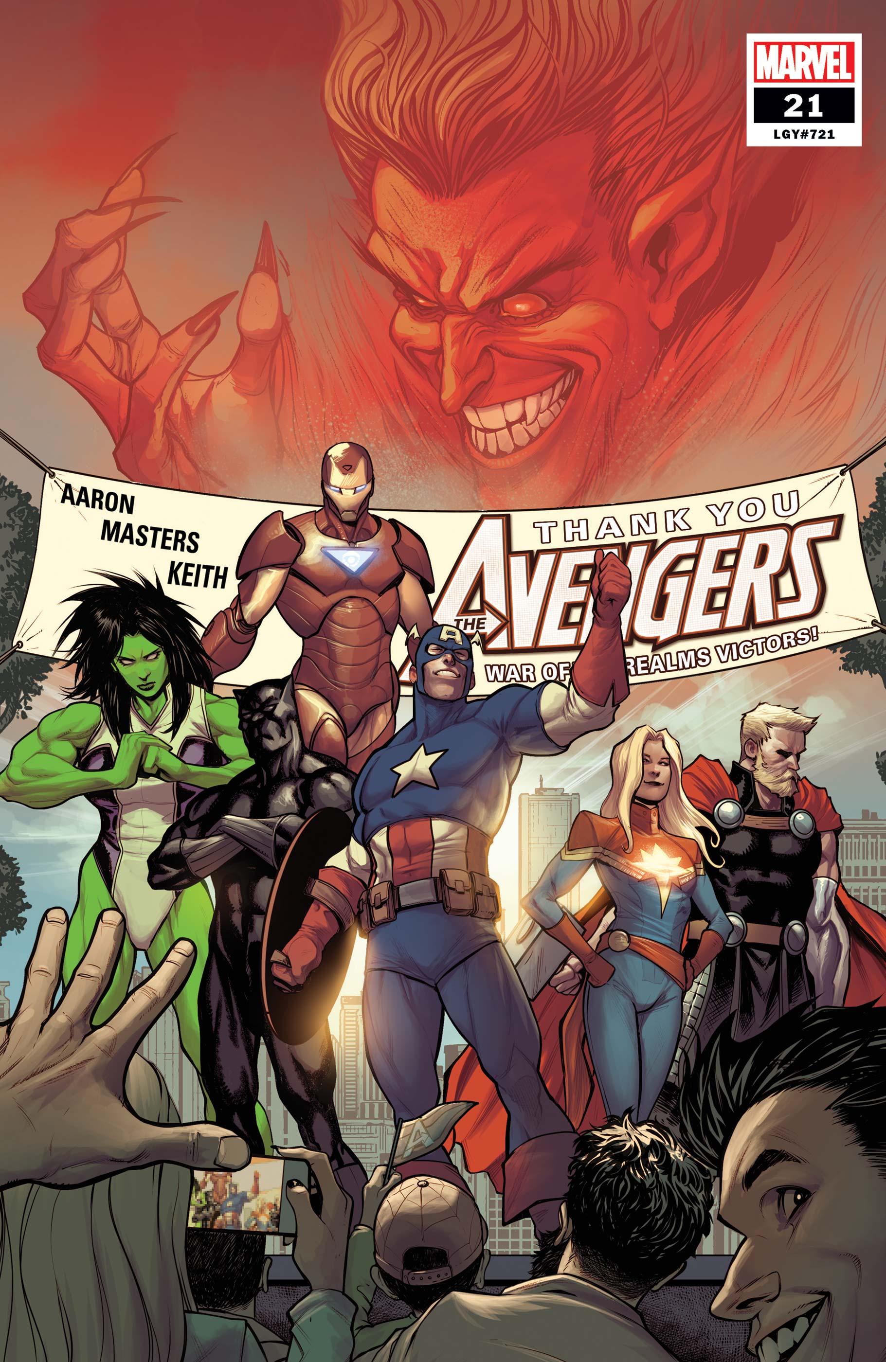 Avengers (2018) #21