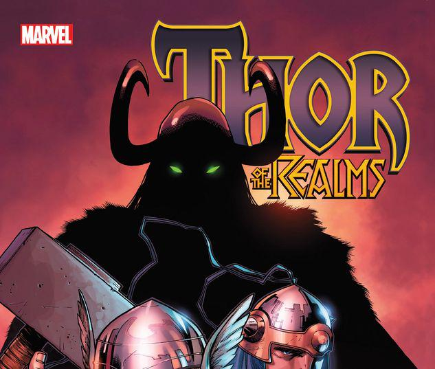THOR OF THE REALMS TPB #1