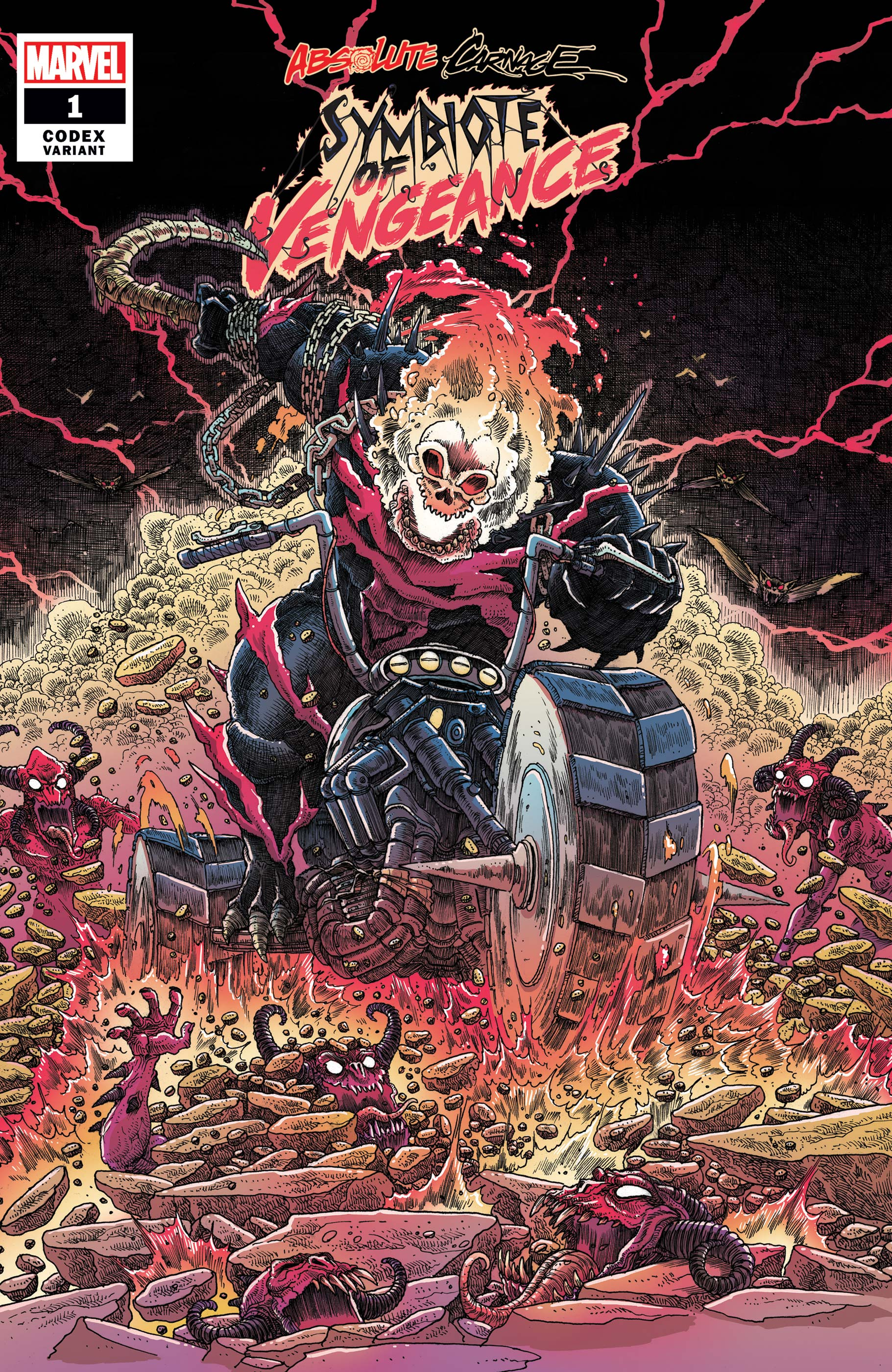 Absolute Carnage: Symbiote Of Vengeance (2019) #1 (Variant)