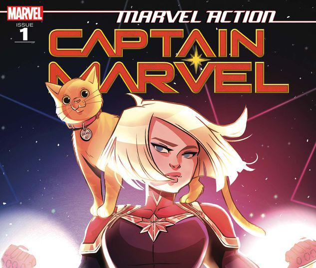 Marvel Action Captain Marvel #1