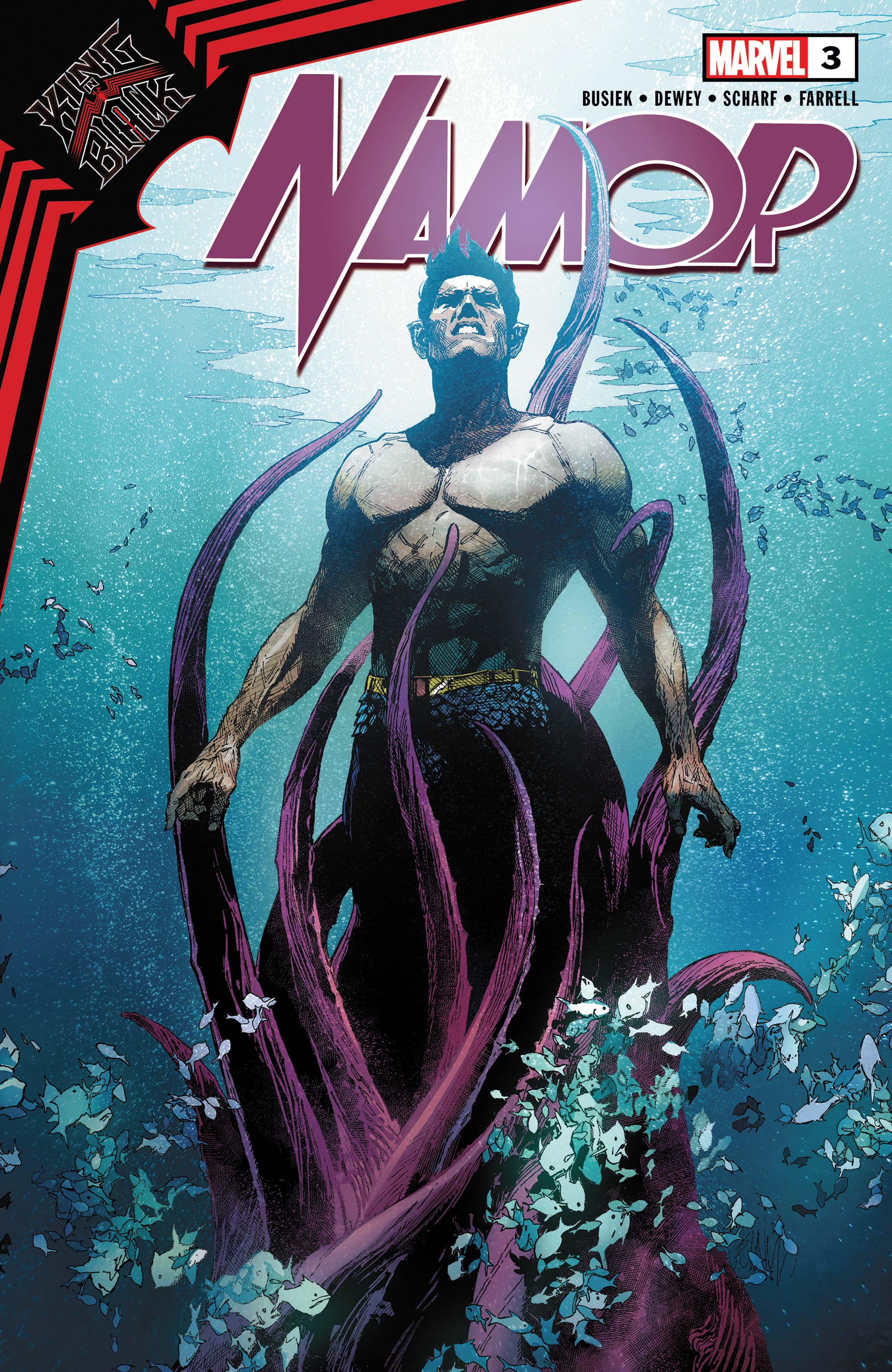 King in Black: Namor (2020) #3