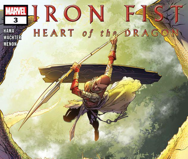 Iron Fist: Heart of the Dragon #3