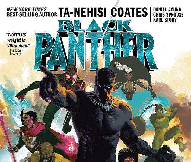 BLACK PANTHER BOOK 9: THE INTERGALACTIC EMPIRE OF WAKANDA PART FOUR TPB #9
