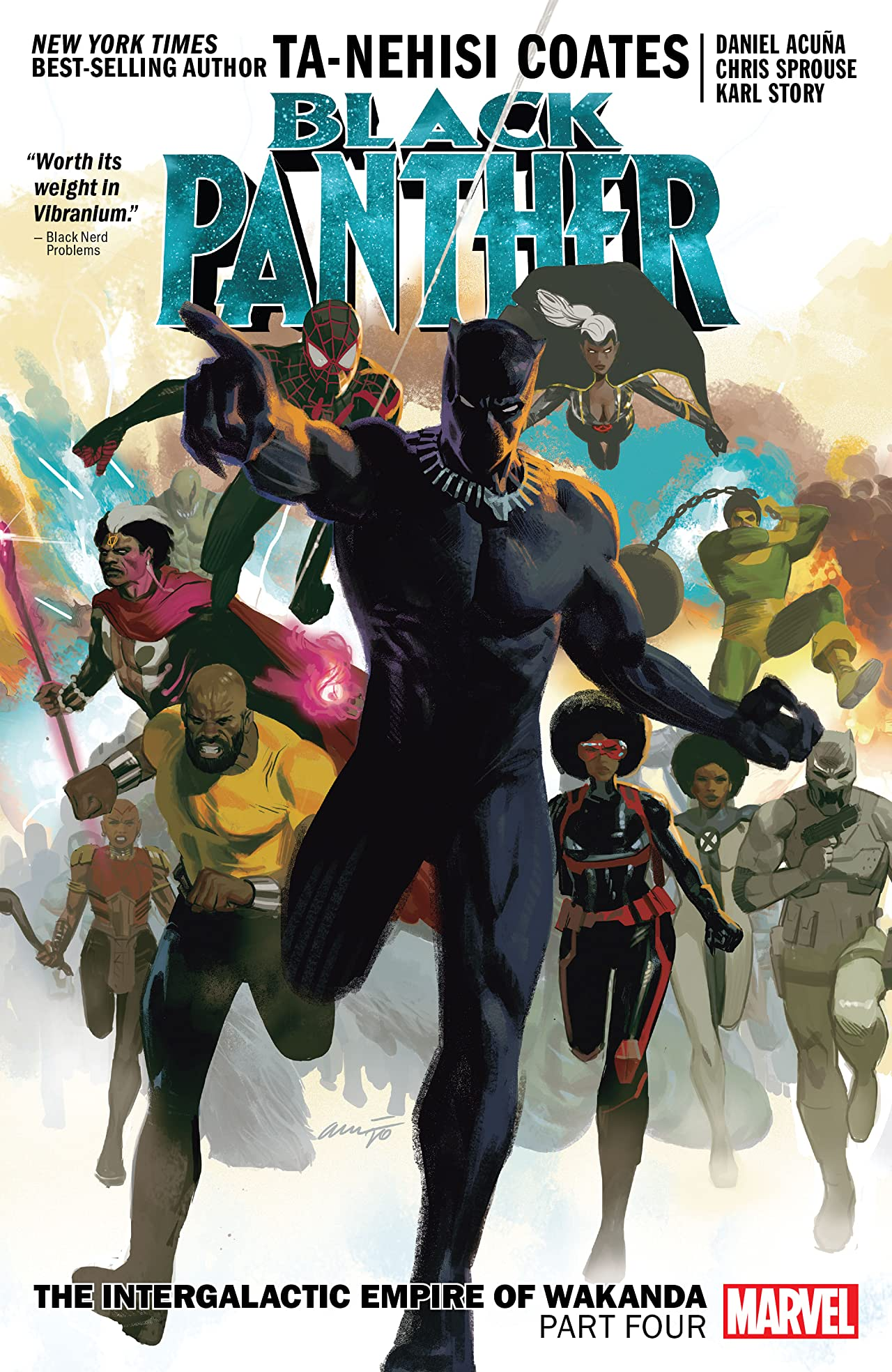 Black Panther Book 9: The Intergalactic Empire Of Wakanda Part Four (Trade Paperback)
