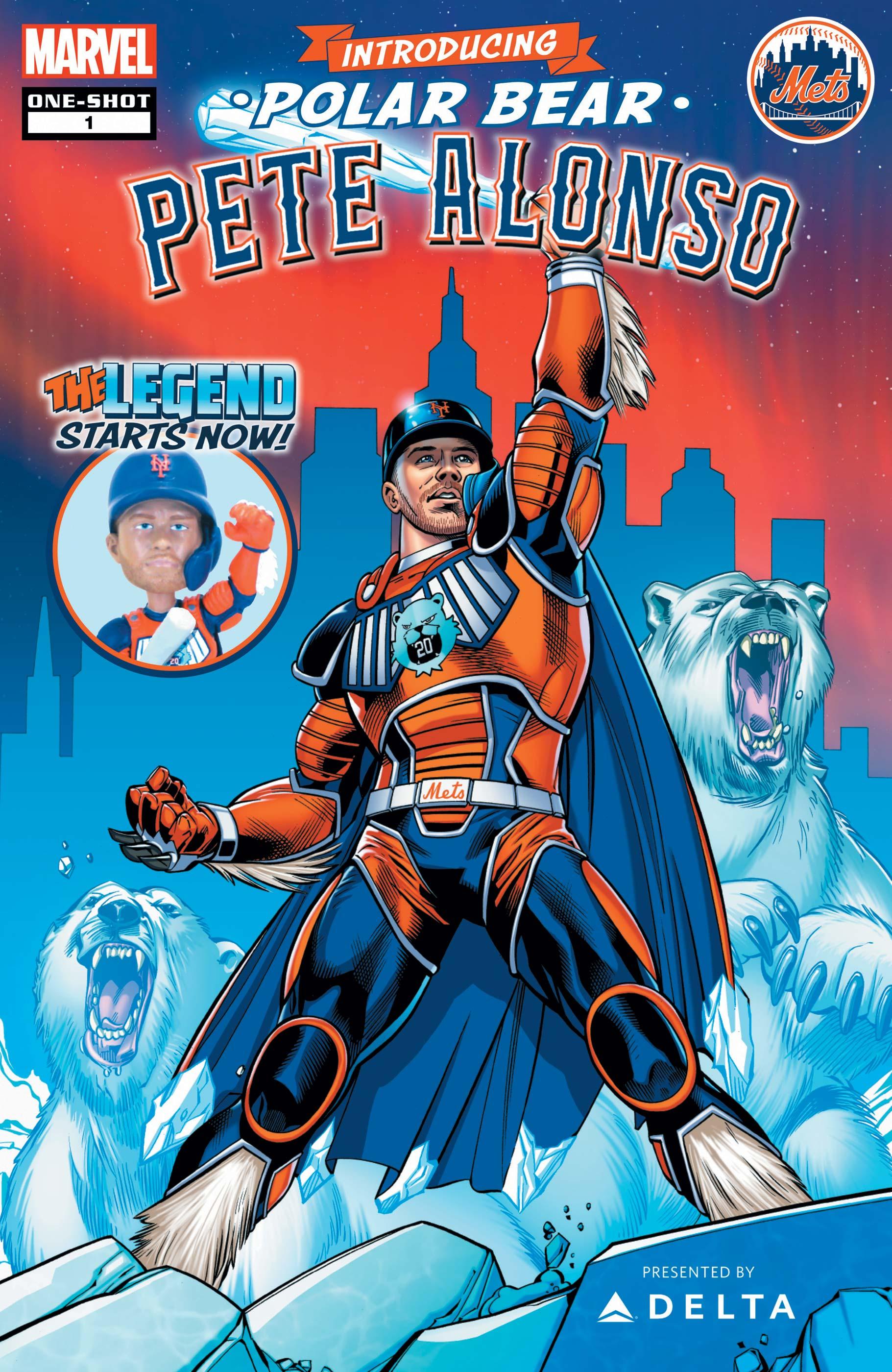POLAR BEAR PETE ALONSO 1 (2020) #1