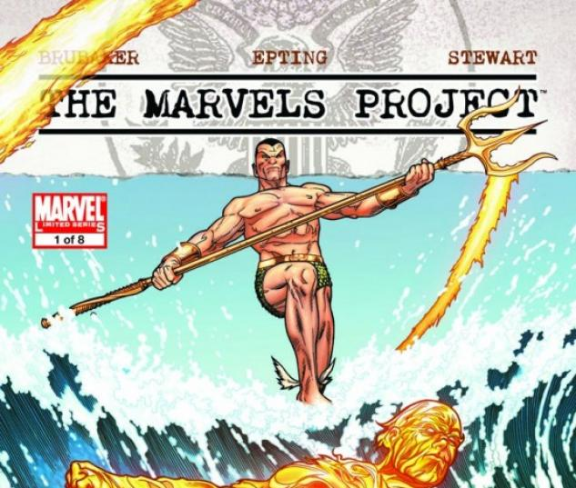 THE MARVELS PROJECT #1 McNiven Variant