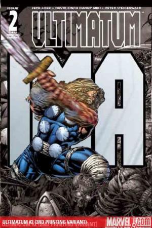 Ultimatum (2008) #2 (3RD PRINTING VARIANT)