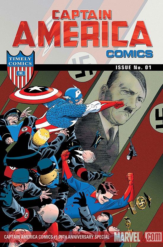 Captain America Comics 70th Anniversary Special (2009) #1