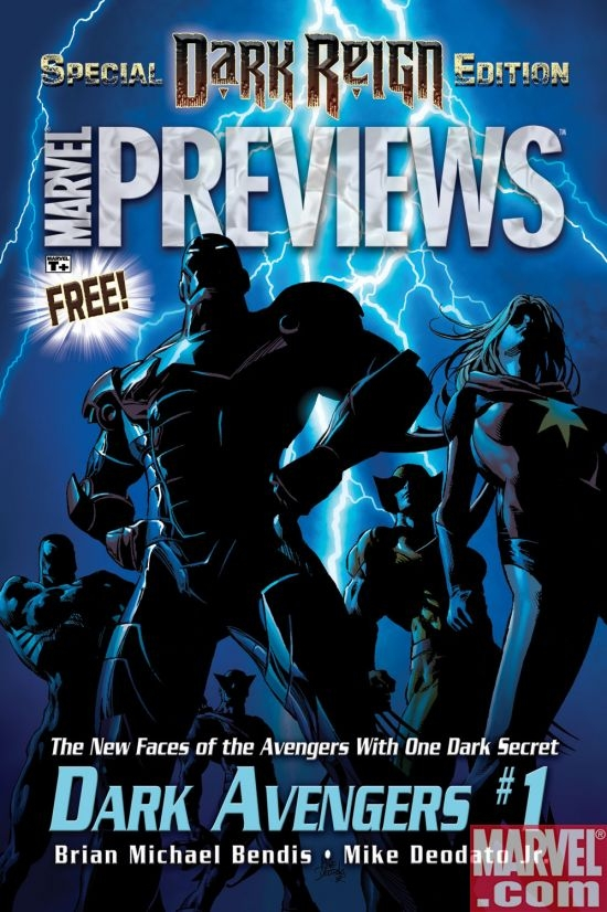 Dark Reign Previews (2008) #1