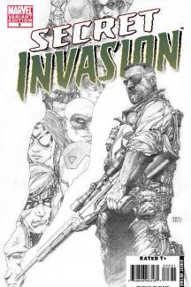 Secret Invasion (2008) #3 (SKETCH VARIANT)