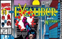 EXCALIBUR #27 COVER