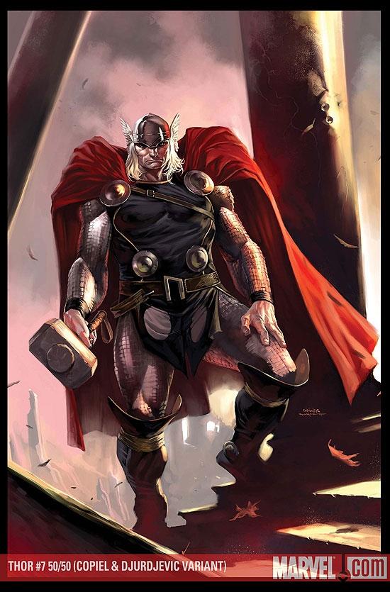 Thor (2007) #7 (Coipel/Djurdjevic Variant)