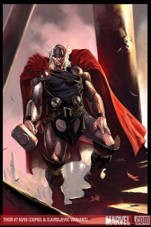 Thor (2007) #7 (50/50 Variant)