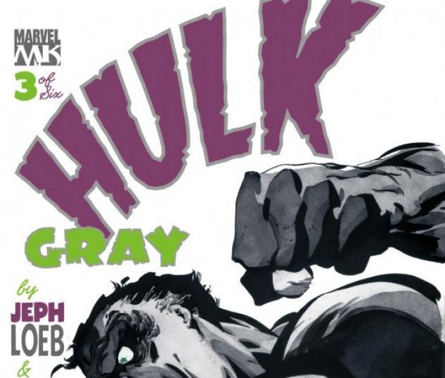 HULK: GRAY (2004) #3 COVER