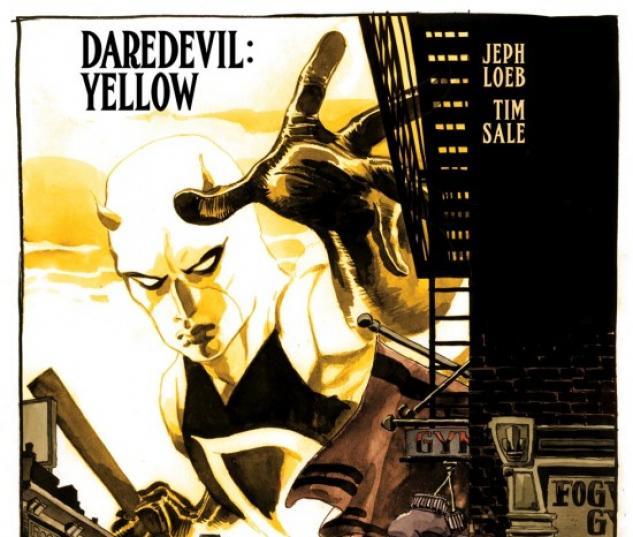 DAREDEVIL: YELLOW (2008) #1 COVER