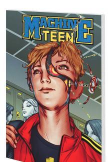 Machine Teen: History 101001 (Digest)