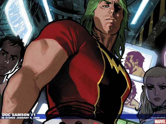 Doc Samson (2006) #1 Wallpaper