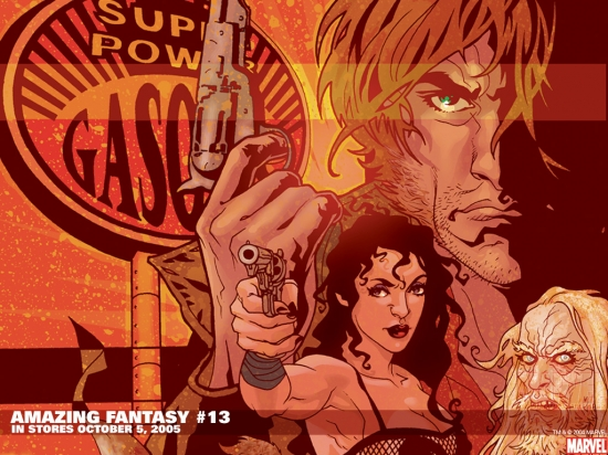 Amazing Fantasy (2004) #13 Wallpaper