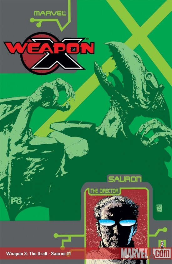 WEAPON X: THE DRAFT - SAURON 1 (2002) #1