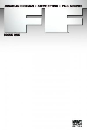 FF (2011) #1 (BLANK COVER VARIANT)