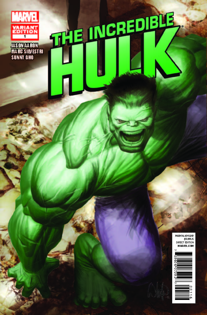 Incredible Hulk (2011) #1 (Portacio Variant)