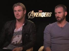 Thor and Cap Interview