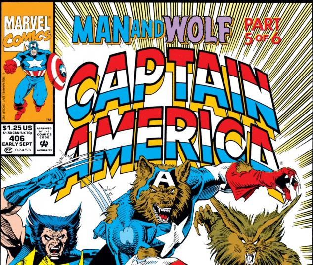 Captain America (1968) #406 Cover
